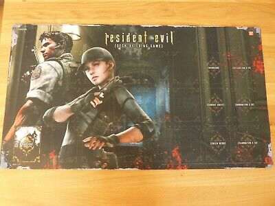 Resident Evil  Deck Building Game Official  Large Playmat Play Mat