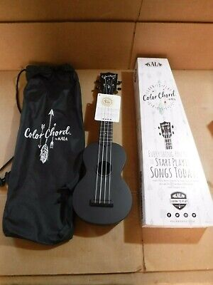 New Kala Color Chord Learn To Play Soprano Ukulele Package