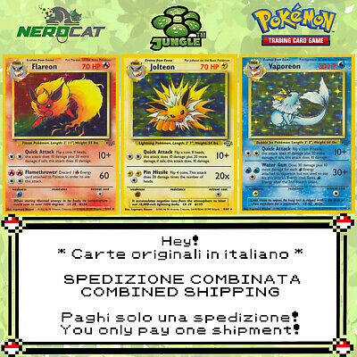 🍀Carte Pokémon RARE SET JUNGLE lotto Pokemon Spedizione combinata🍀