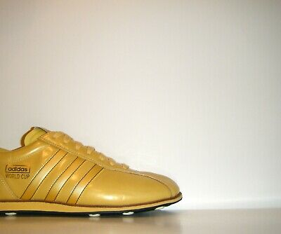 Vtg Adidas World Cup 66 40th Anniversary GOLD FIFA PROMO SAMPLE Sz 9 Golden Boot