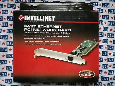 INTELLINET FAST ETHERNET PCI NETWORK CARD DRIVERS WINDOWS 7