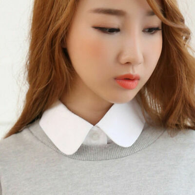 Removable Women False Collar Choker Necklace Ladies Detachable Lapel Fake Blouse