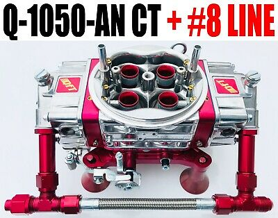 Quick Fuel Q-1050-anct Carburador Círculo Track Anular Booster With #8 Red Line