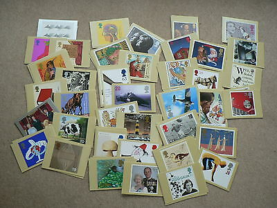 Royal Mail PHQ Stamp Cards - 1996, 1997, 1998, 1999, Sold In Sets - Mint