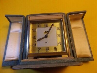 French carriage clock JAZ GOOD WORKING ORDER.