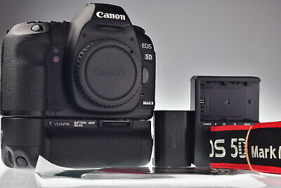 Canon EOS 5D Mark II Body with BG-E6 Battery Grip Shutter Count 30582 Excellent+