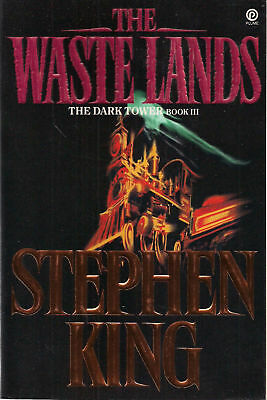 THE DARK TOWER III Waste Lands by Stephen King 1992 SC