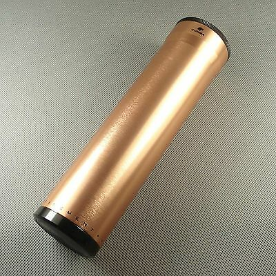 COHIBA Rose Gold Color Metal Travel Cigar Tube Jar humidity CO032G