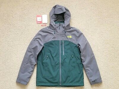 fb7a0d987733 The North Face Thermoball Triclimate Vanadis Grey Green Men s 3-in-1 Jacket  NICE