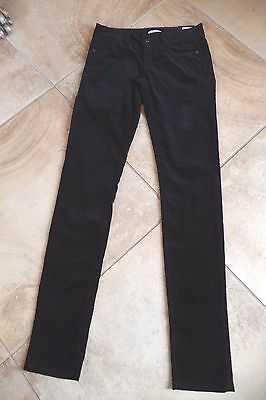 NWT GAP Womens 24 Black Velvet Always Skinny 5 Pocket Jeans