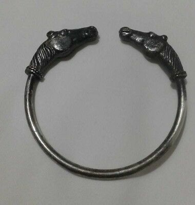 Ancient Viking BRACELET SILVER Rare Artifact Stunning Extremely OLD