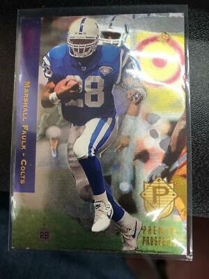 1994 Pinnacle Trophy Collection Marshall Faulk Rookie Card