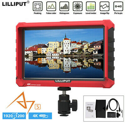"LILIPUT A7S 7"" HD 1920X1200 IPS 4K Video Monitor For Universal DSLR SLR Camera"