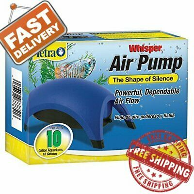 Whisper Air Pump Tetra Water Fish Tank Aquarium 10 40 60 100 Gallons Filter