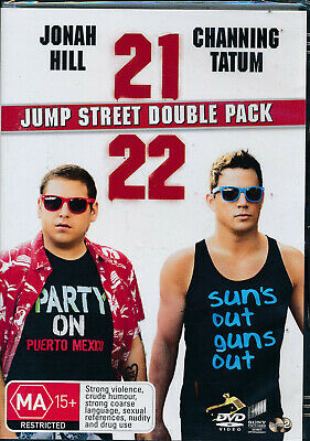 Jump Street Double Pack 21 22 Jump Street Dvd 2 Disc Set Region