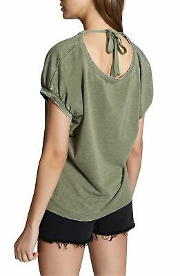"SANCTUARY $69 ""Sundance"" Super Soft Tie-Back Blouse Top XS 0/2 X-Small NWT"