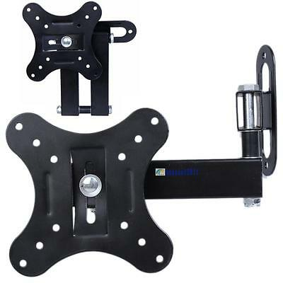 Tilt Swivel LCD LED Plasma Flat Panel TV Wall Mount Bracket 14 19 20 22 24 26 EL