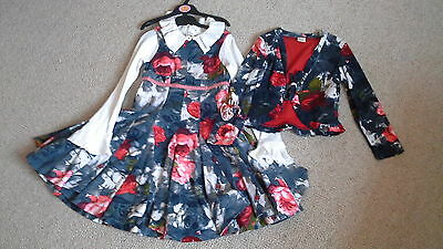 Stunning hard to find Jottum 2 piece set 6yr 116 worn once & top Easter outfit