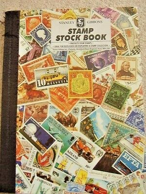 old stamp Collection,hundreds of stamps,worldwide,antique,10 album pages
