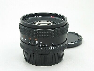 Carl Zeiss Planar 50mm f/1.7 Lens Red T* Yashica Contax 908
