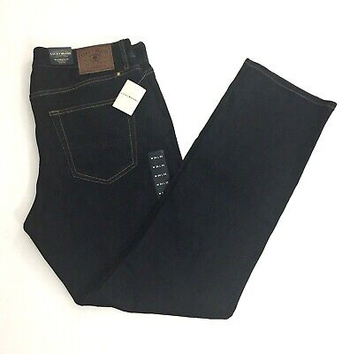 e59658fe NWT Lucky Brand Mens 410 Athletic Fit Relaxed Slim Leg Jeans Sz. 34 x 32