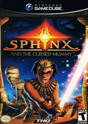 GameCube game - Sphinx & die verfluchte Mumie / and the Cursed Mummy US boxed
