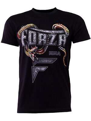"Forza Sports ""Slither"" MMA T-Shirt - Black"