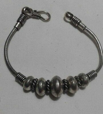 Ancient Viking BRACELET SILVER Rare Vintage Artifact Stunning Extremely OLD