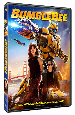 Bumblebee (DVD,2018) NEW-  Adventure, Action,Science Fiction film Free Shipping