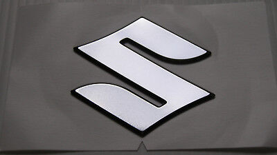 "ORIGINAL Suzuki  ""S"" EMBLEM-LOGO- 4,8cm -GSX-Aufkleber-Sticker-48mm-GENUINE"