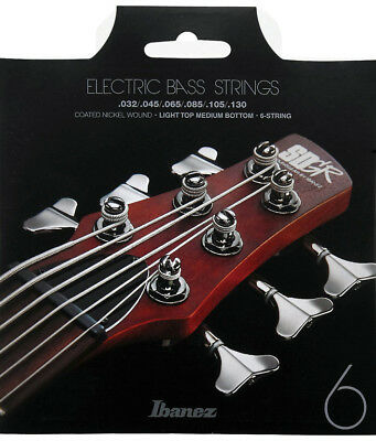 Ibanez IEBS5C E-Bass-Saiten Coated Light Top Medium BottomLong ScaleNEU