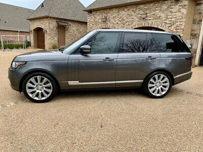 2016 Land Rover Range Rover Supercharged 2016 Land Rover Range Rover Supercharged
