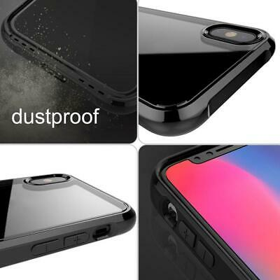 For  iPhoneX/10 Anti-Shock Soft TPU Silicone Protective Case Clear Cover AE