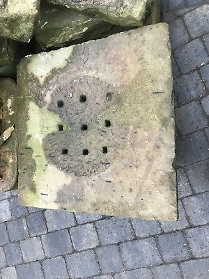 York Stone Drain Cover Hand Made Feature Reclaimed