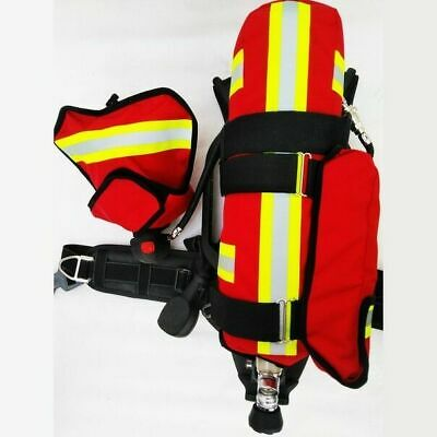 Firefighter balloon carrying case bag fireman Mask Survive Air Breathing Apparat