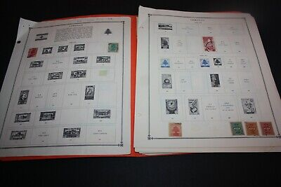 LEBANON 150+ Stamps ON Album Pages Nice Variety