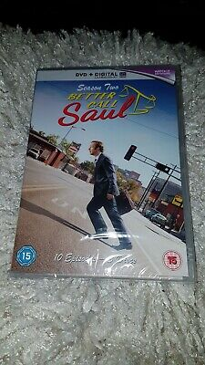 Better Call Saul Season Two.dvd.new And Sealed.