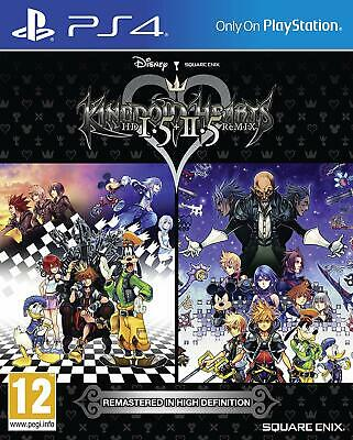 Kingdom Hearts HD 1.5 and 2.5 Remix PS4 - Brand NEW & SEALED PlayStation 4