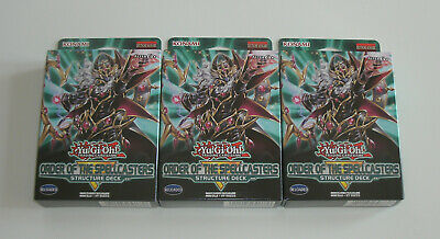 Yu-Gi-Oh - 3x Structure Deck Order of the Spellcasters - NEU & OVP - Deutsch