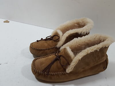7a8a31e0ddd UGG ALENA CHESTNUT Women's Suede Moccasin Slippers 1004806 - $103.95 ...