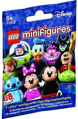 Lego New DISNEY Poly Bag Minifigure Series RANDOM Mystery Toy Gift Sealed x1