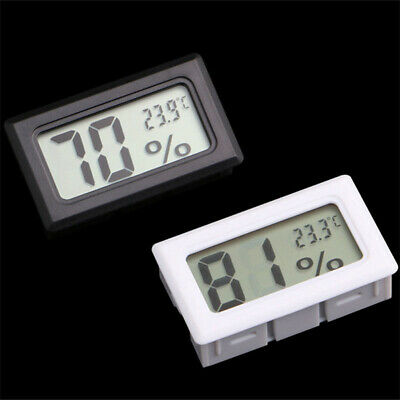 JT_ New Digital LCD Indoor Thermometer Temperature Humidity Meter Mini Hygrome