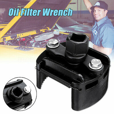 """1x Adjustable Car Oil Fuel Filter Wrench Cup 1/2"""" Housing  Remover Hand"""