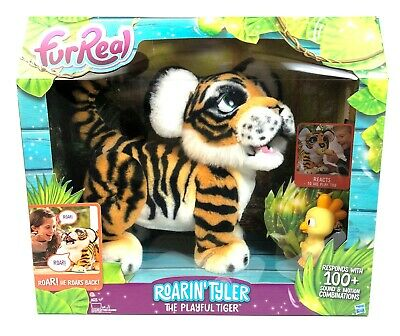aad3d36f5b793 NEW HASBRO FURREAL Roarin' Tyler the Playful Tiger Interactive Pet FREE  SHIPPING