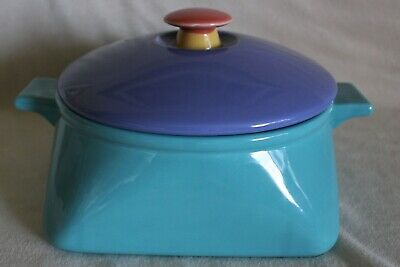 Lindt Stymeist COLORWAYS 2.75 Quart Covered Casserole With Ceramic Lid NEW