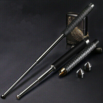 Alloy Steel Self Defense Personal Security Telescopic Rod Bat Weapon Protector