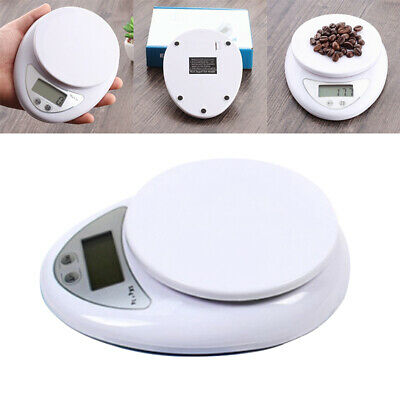 5kg 5000g/1g Digital Electronic Kitchen Food Postal Scale Weight Balance Tool