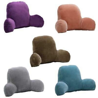 TV Reading Backrest Seat Cushion Bed Rest Back Waist Support Pillow 4  Colors