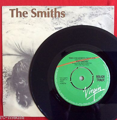 """THE SMITHS -This Charming Man- Ultra Rare Greek 7"""" with Picture sleeve (Vinyl)"""