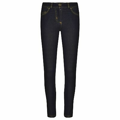 Kids Girls Skinny Jeans Black Stretchy Denim Jeggings Fit Pants Trousers 5-13 Yr